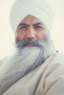 Primo piano di Yogi Bhajan